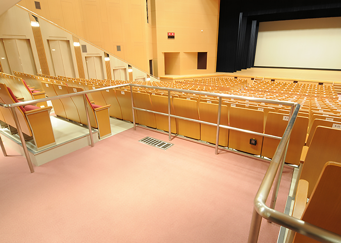 大ホール車椅子席